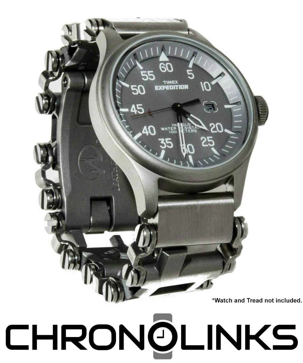 ChronoLinks with Leatherman Tread Multi-Tool and Timex