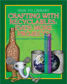 Crafting with Recyclables: Even More Projects - 9781634714358 by Dana Meachen Rau, Kathleen Petelinsek, 9781634714358