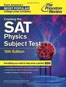 Cracking the SAT Physics Subject Test, 15th Edition by Princeton Review, 9780804125666