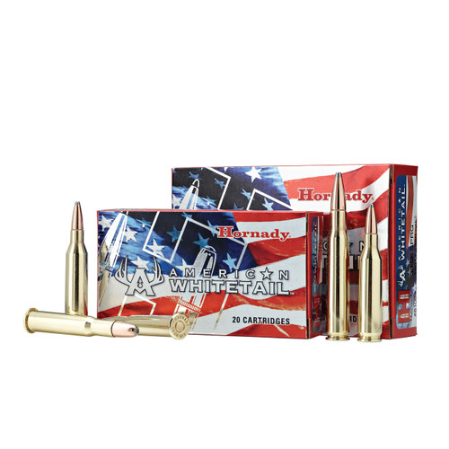 HORNADY AMERICAN WHITETAIL AMMO 7MM-08 139 GR INTERLOCK SP AW