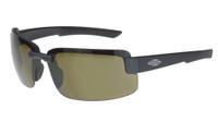 ES6 Safety Glasses - Brown Polarized Lens and Matte Black Frame