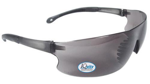 RAD-Sequel IQ anti-fog safety eyewear with smoke lens.