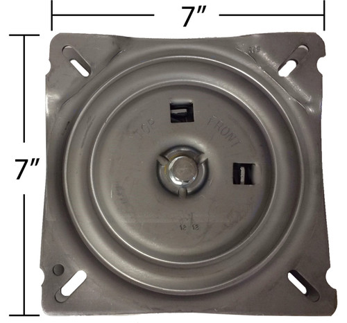 Replacement Pitched Auto Return Bar Stool Swivel Plate 7
