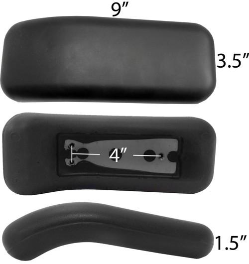 Herman Miller Replacement Equa Armrest Arm Pads - S4109-1