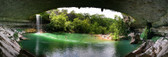 Hamilton Pool Waterfall Panoramic
