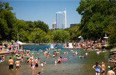 Summertime Barton Springs