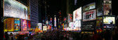 Times Square New York Panoramic