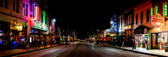 Sixth Street Comes Alive Panoramic
