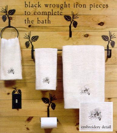 ... Black Wrought Iron Bathroom Accessories. Image 1