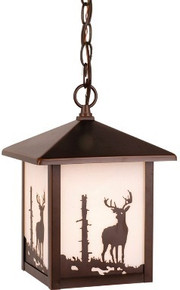 Deer Outdoor Hanging Light