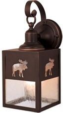 Yellowstone Moose Wall Light