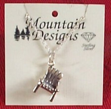 Adirondack Chair Necklace