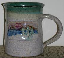 Hand Painted Adirondack Lake Mug