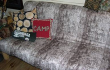 Futon Cover, Birch Bark