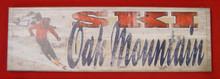 Sign, Ski Oak Mountain