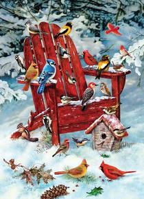 Adirondack Birds Puzzle