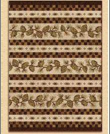 Mountain Pine Cone Carpet