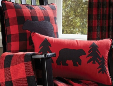 Buffalo Check Pillows Adirondack Country Store