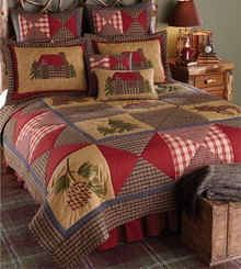 Cabin Design Bedding