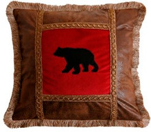 Bear Country Collection Accent Pillows