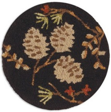 Pinecones and Berries Chairpad