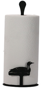 Loon paper towel stand