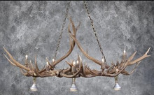 Straight Arrow Chandelier