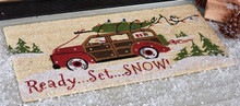 Ready Set Snow Doormat