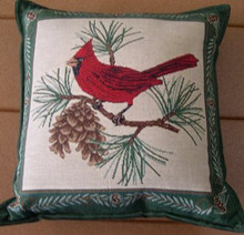 Cardinal Balsam Pillow