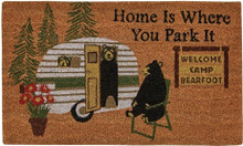 Home is Where You Park It Doormat