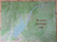 Great Sacandaga Lake Cutting Board, Large size