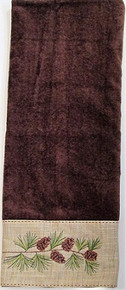 Pine Branch Bath Towel