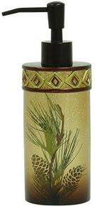 Pine Cone Silhouettes Lotion Dispenser