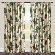 Pinecone sheer window panels