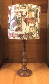 Lodge Wildlife Lamp