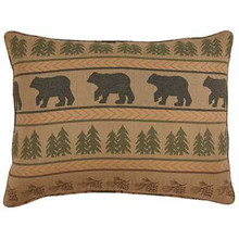 Bear Tracks Pillow Sham