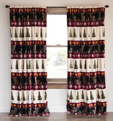 "Tall Pines 84"" Curtains"