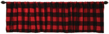 Buffalo Plaid Valance