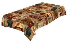 Lodge Collage Tablecloth