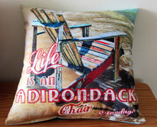 Sacandaga Adirondack Chair Pillow