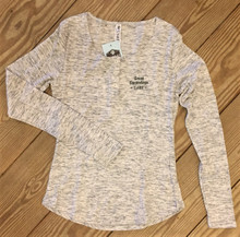 Ladies Grey Henley Shirt
