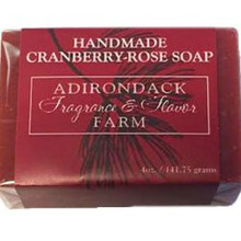 ADK Cranberry Rose Soap