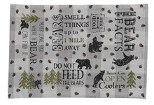 Bear Facts Placemat
