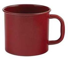 Rustic Red Enamelware Mug