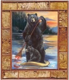 Paddleboarding Bears