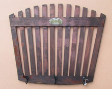 Antique Canoe Back Coat Rack