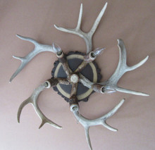 5 Light Antler Ceiling Fixture