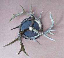 3 Light Antler Ceiling Fixture
