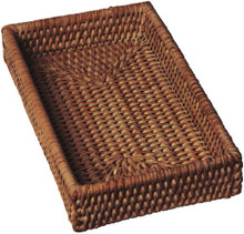 Rattan Guest Towel Holder