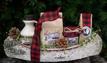 Birch Canoe Breakfast Gift Basket